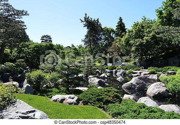 Japanese Garden - csp48350474