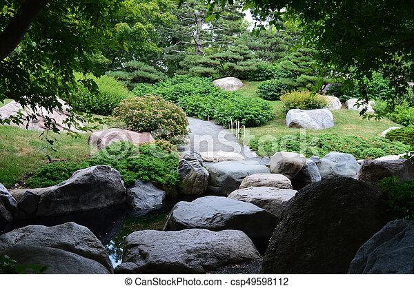 Japanese Garden - csp49598112