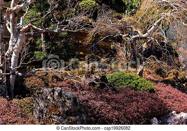 Japanese garden - csp19926082