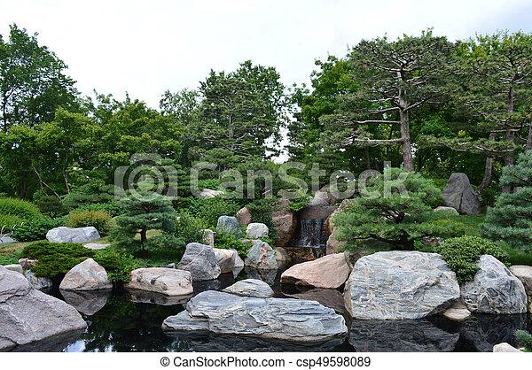 Japanese Garden - csp49598089