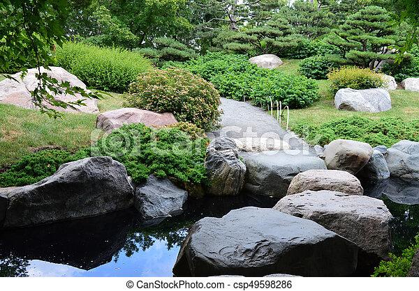 Japanese Garden - csp49598286