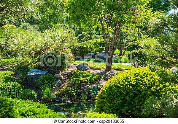 Japanese Garden Place - csp20133855