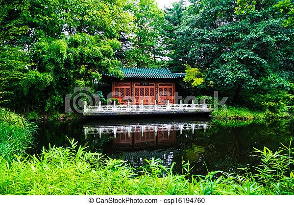japanese garden - csp16194760