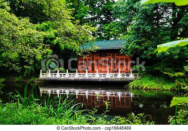 japanese garden - csp16648469