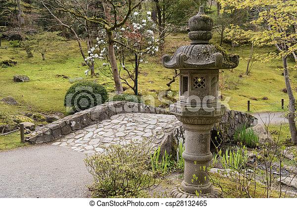Japanese Garden - csp28132465