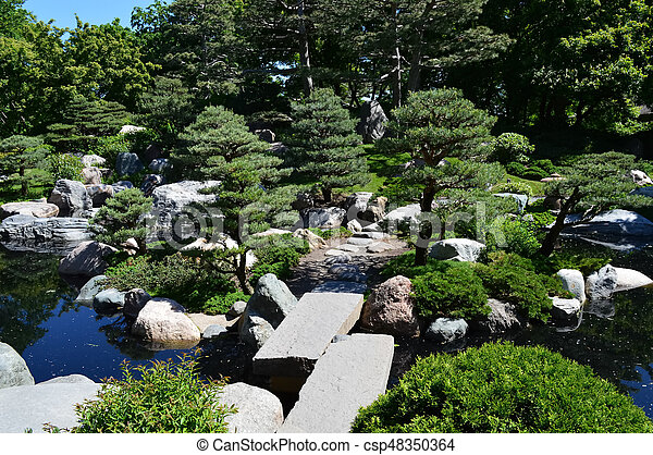 Japanese Garden - csp48350364