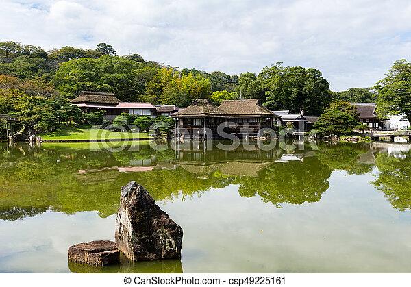 Japanese Garden - csp49225161