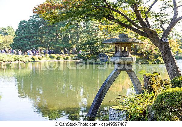 Japanese garden - csp49597467