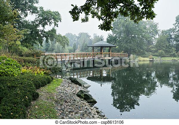 Japanese garden - csp8613106