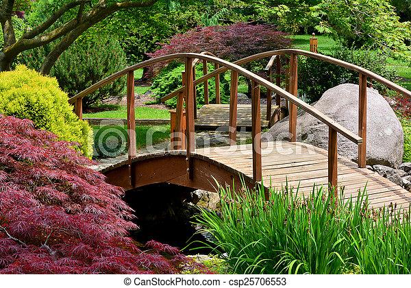 Japanese Garden - csp25706553