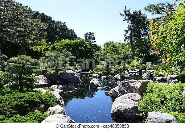 Japanese Garden - csp48350853