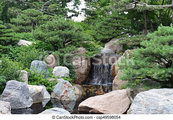 Japanese Garden - csp49598054