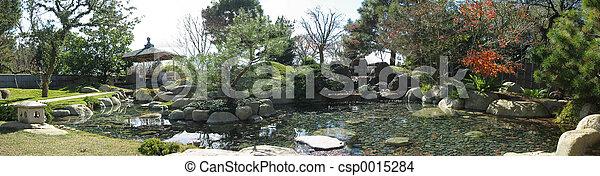 Japanese Garden - csp0015284