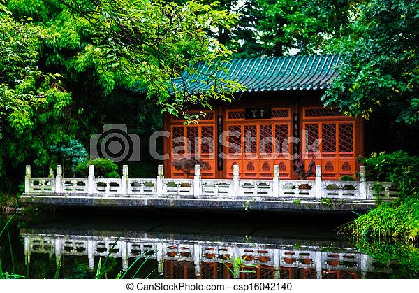 japanese garden - csp16042140
