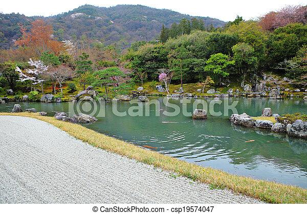 Japanese garden - csp19574047