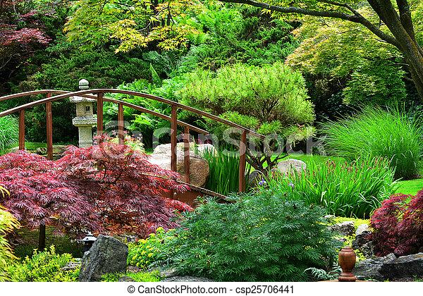 Japanese Garden - csp25706441
