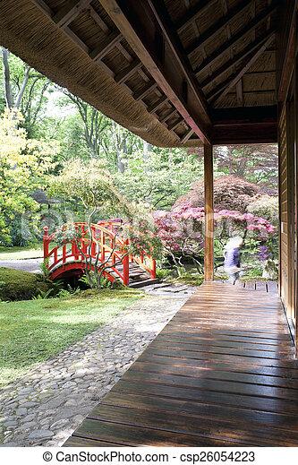 Japanese garden - csp26054223