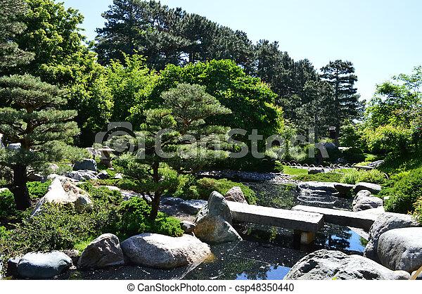 Japanese Garden - csp48350440