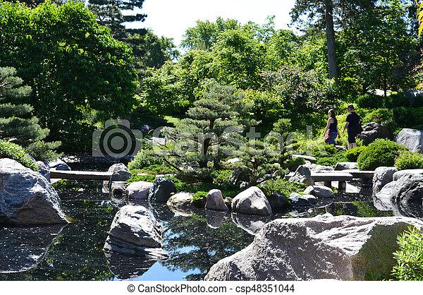 Japanese Garden - csp48351044
