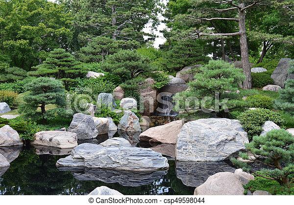 Japanese Garden - csp49598044