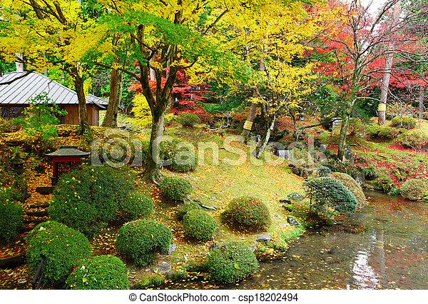 Japanese garden - csp18202494