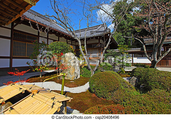 Japanese Garden - csp20408496