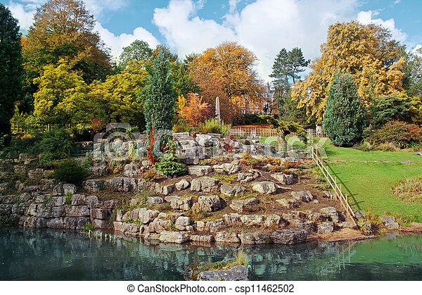Japanese garden - csp11462502