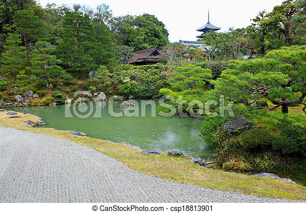 Japanese garden - csp18813901
