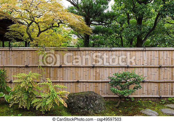 Japanese garden - csp49597503