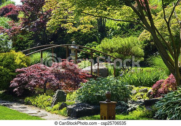 Japanese Garden - csp25706535