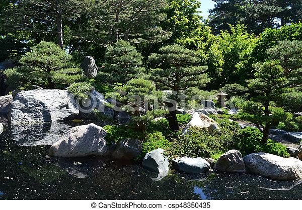 Japanese Garden - csp48350435