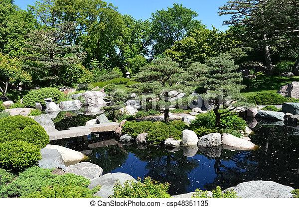 Japanese Garden - csp48351135