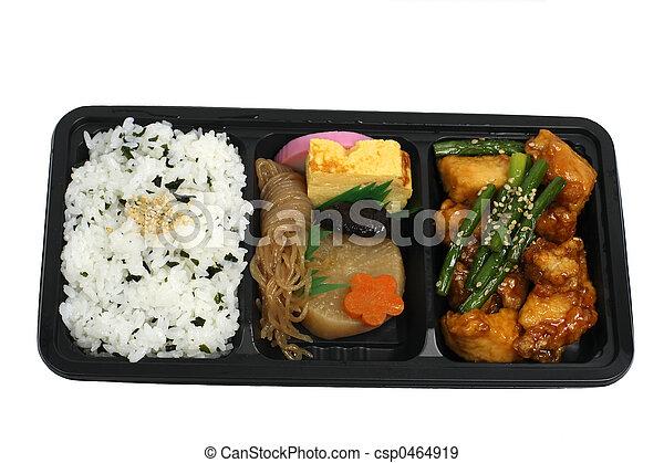 Japanese lunch box - csp0464919