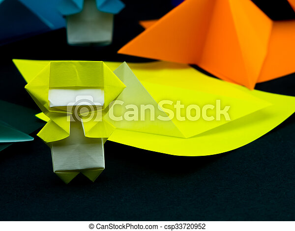 Japanese Origami Toys Folding Instructions How To Play