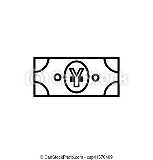 Japanese Yen Flat Icon For Apps And Websites Japanese Yen Or