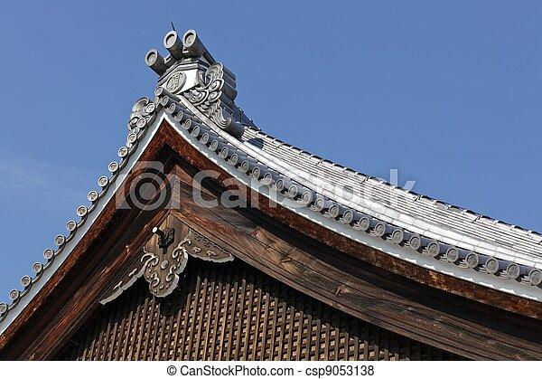 Japanisches Dach japanisches dach tempel traditionelle japanisches bilder