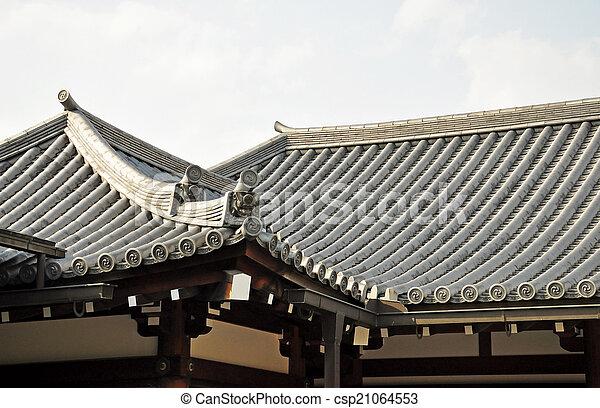Japanisches Dach japanisches dach tempel japanisches kyoto dach