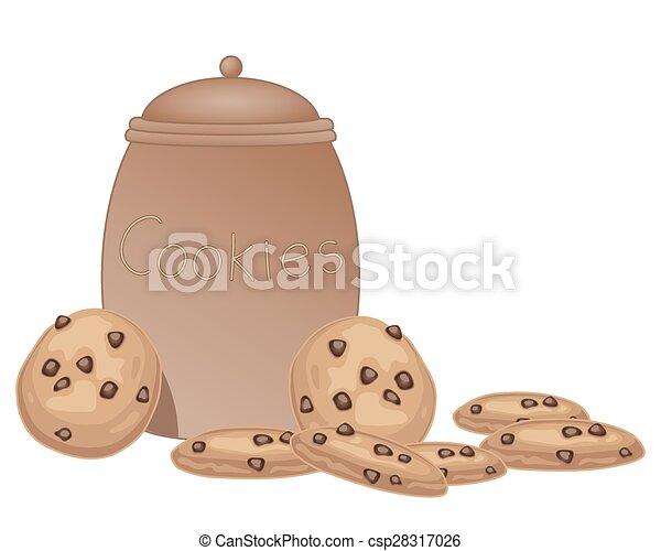 jar of cookies - csp28317026