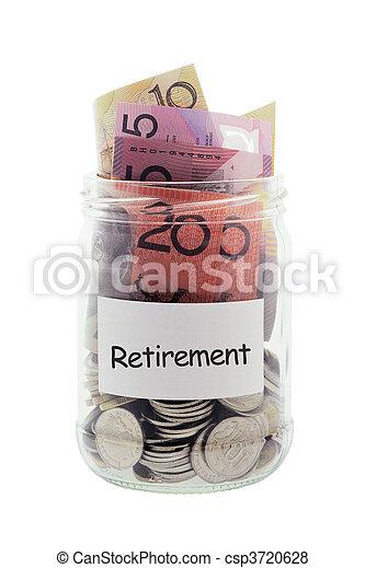 Jar with Money - csp3720628