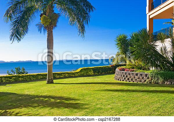 Jardín de paisajes - csp2167288
