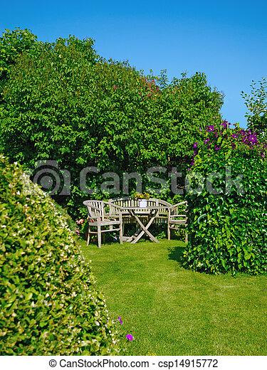 Jardín - csp14915772