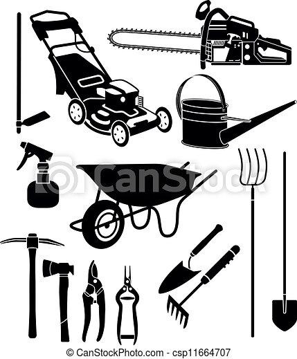 jardin, équipement - csp11664707