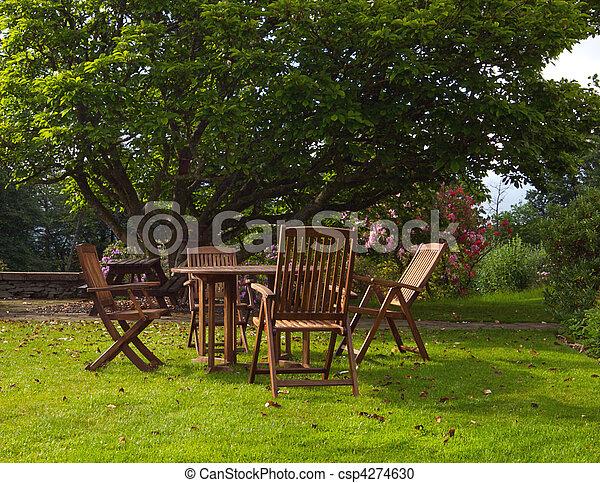 jardin anglais - csp4274630