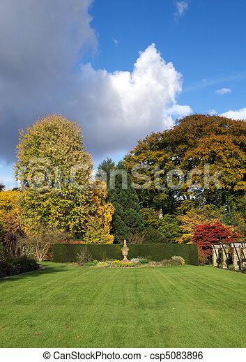 jardin anglais - csp5083896