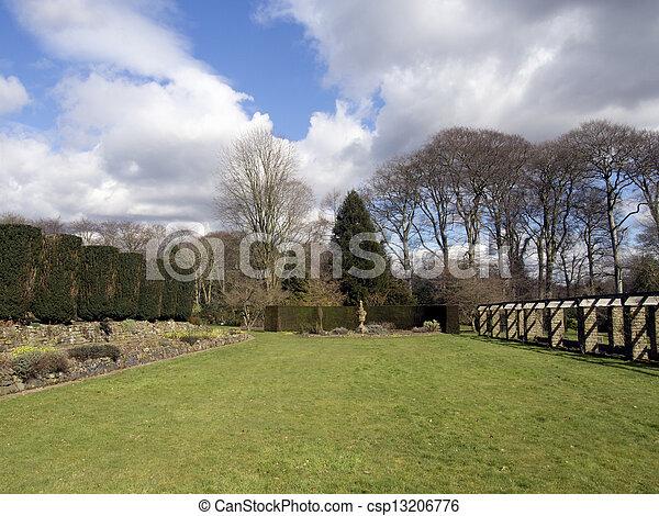 jardin anglais - csp13206776