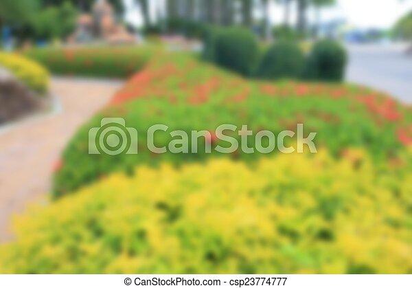 jardin anglais - csp23774777