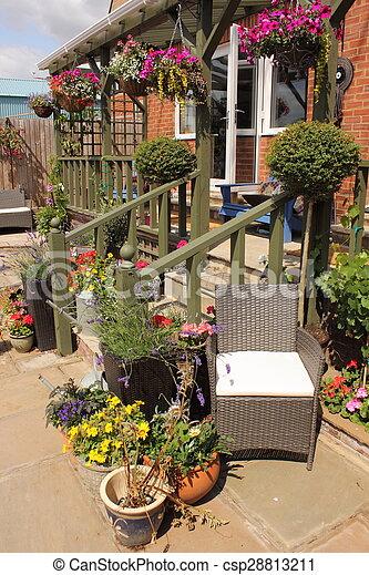 jardin anglais - csp28813211