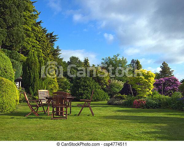 jardin anglais - csp4774511