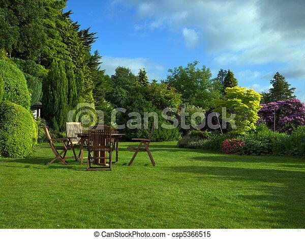 jardin anglais - csp5366515
