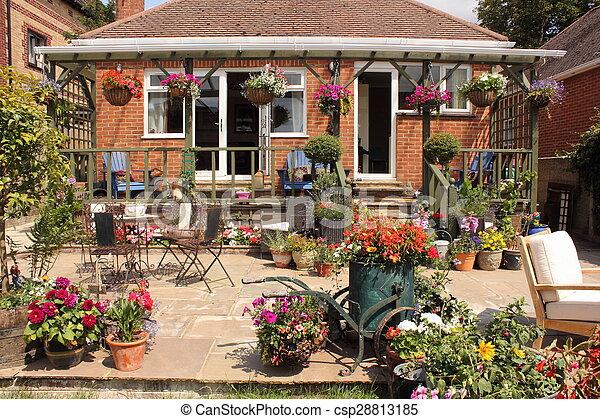 jardin anglais - csp28813185